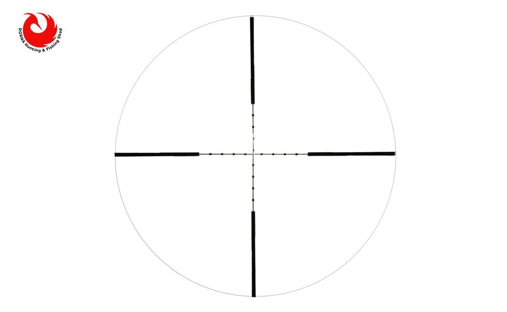 رتیکل دوربین تفنگ BSA 4.16x44 AOEYS