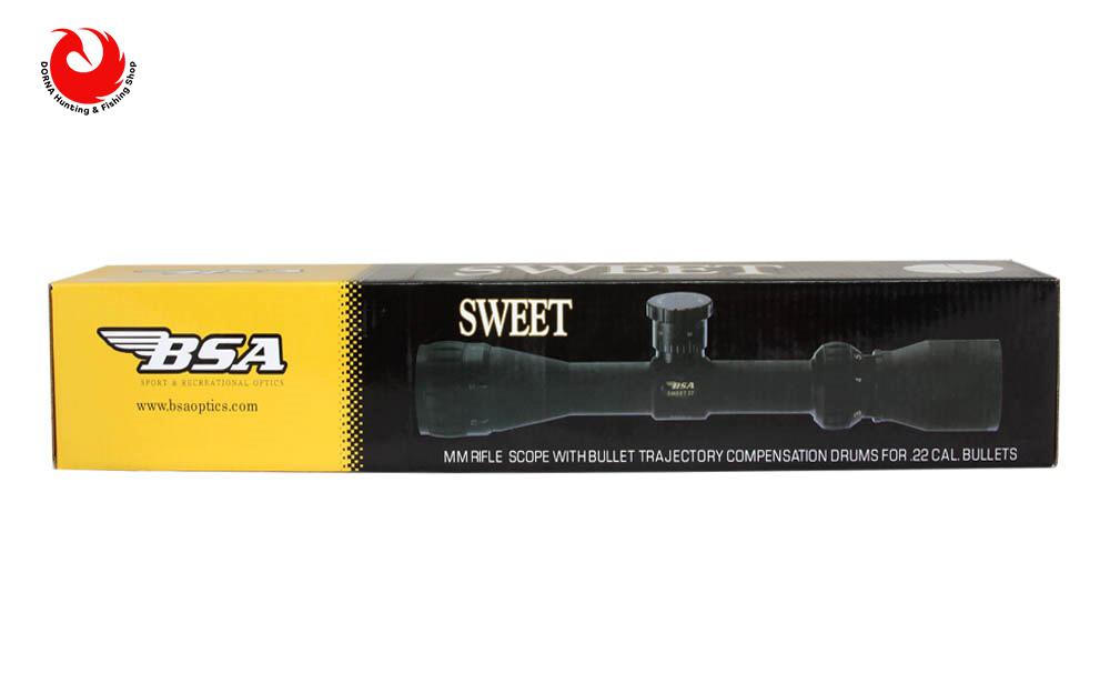 جعبه دوربین تفنگ BSA 4.16x44 Sweet