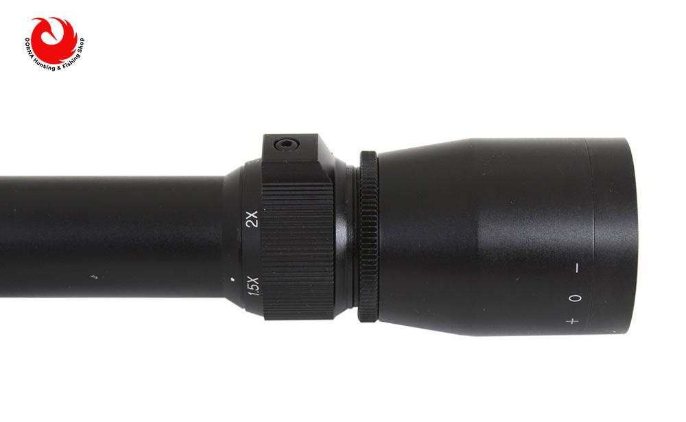 مشخصات دوربین تفنگ لئوپولد 1.5.5x20