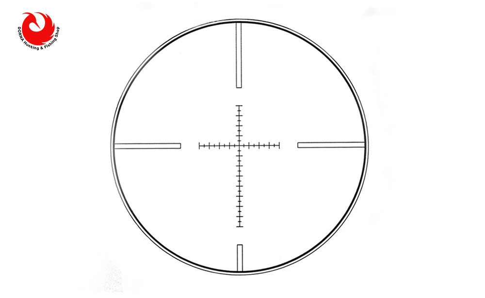 رتایکل دوربین تفنگ ویکتور 4.14x50