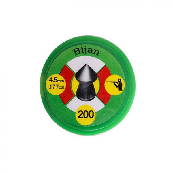 خرید ساچمه بیژن نوک تیز کالیبر 4.5
