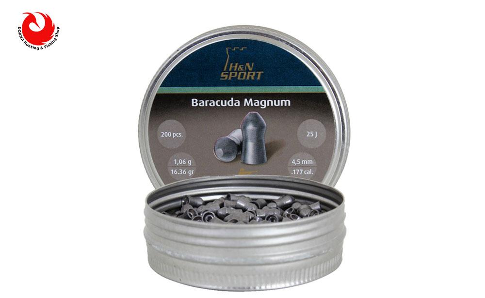 ساچمه H&N باراکودا مگنوم کالیبر 4.5