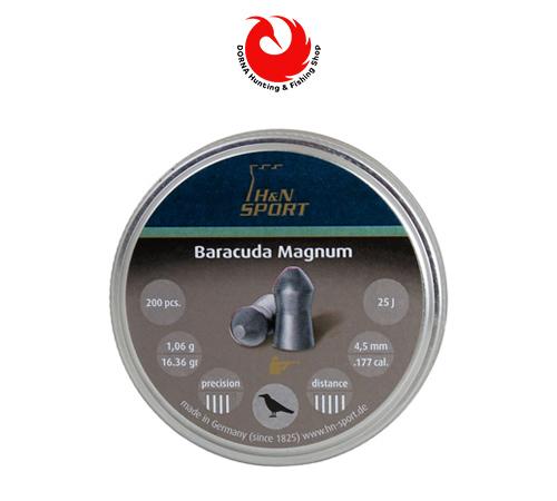 مشخصات ساچمه H&N باراکودا مگنوم کالیبر 4.5