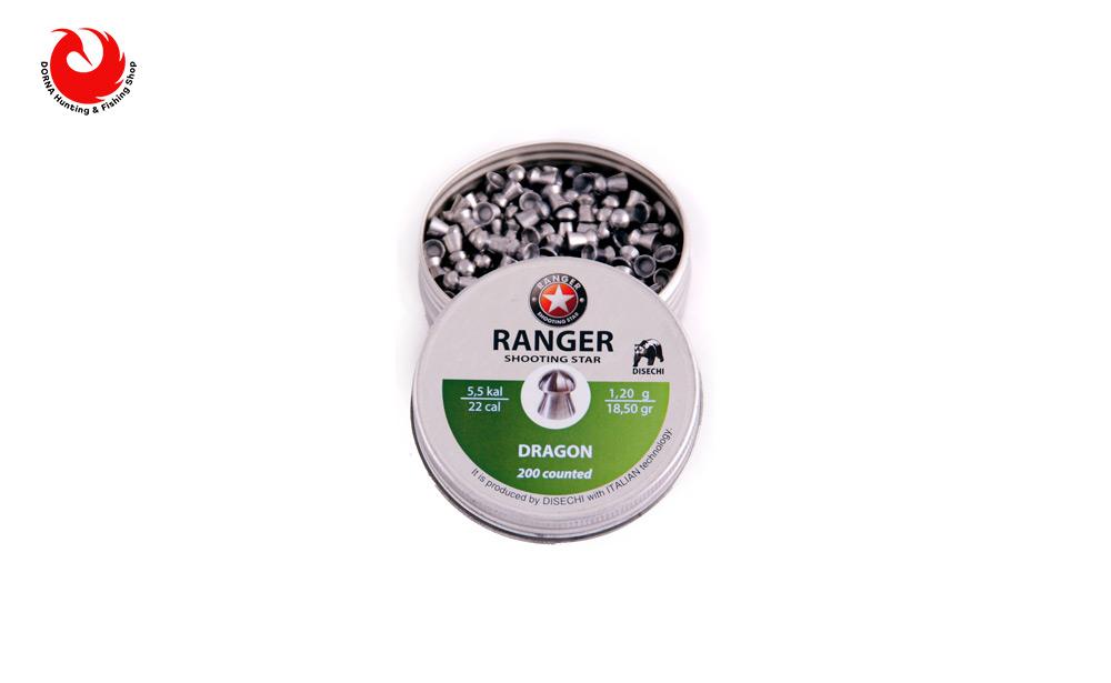 خرید ساچمه رنجر دراگون کالیبر 5.5