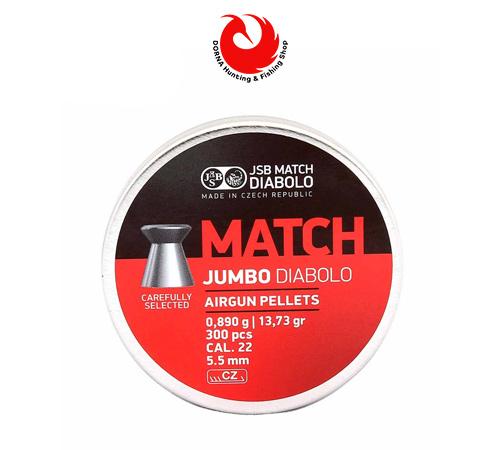 خرید ساچمه JSB مچ کالیبر 5.5 گرین 13.73