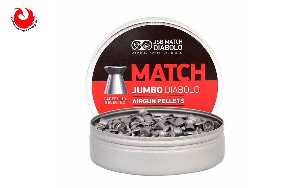 قیمت ساچمه JSB مچ کالیبر 5.5 گرین 13.73