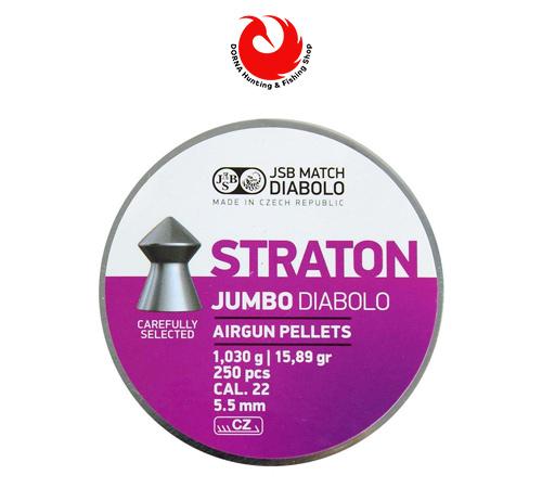 قیمت ساچمه JSB مچ دیابلو استراتون کالیبر ۵.۵