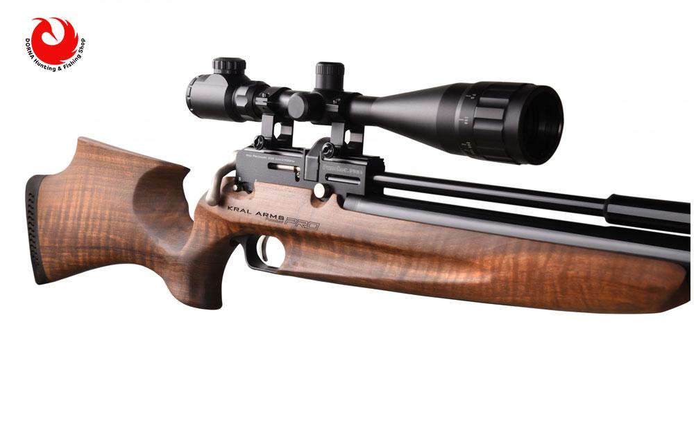 خرید تفنگ بادی pcp کرال پانچر پرو سایلنت