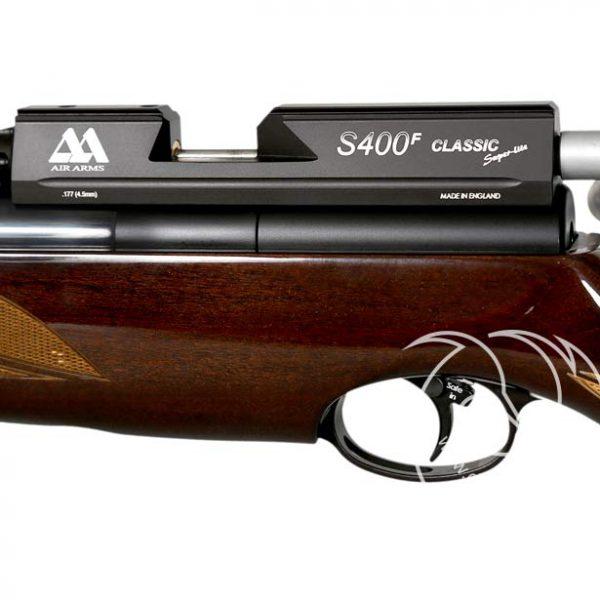خرید تفنگ بادی PCP ایرآرمز S400 F