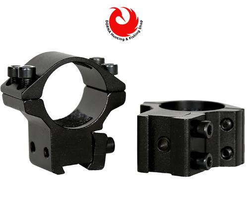 مشخصات پایه دوربین تفنگ نیکواسترلینگ رینگ 25 ریل 11