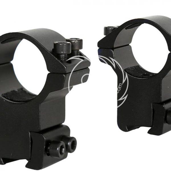 قیمت پایه دوربین تفنگ نیکواسترلینگ رینگ 25 ریل 11