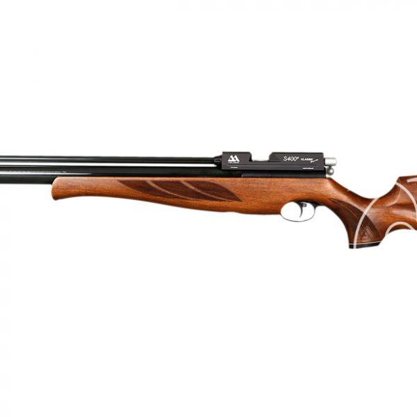 تفنگ بادی PCP ایرآرمز S400 F کلاسیک قهوه ای