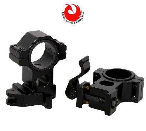پایه دوربین تفنگ TacVector رینگ 30 ریل 22