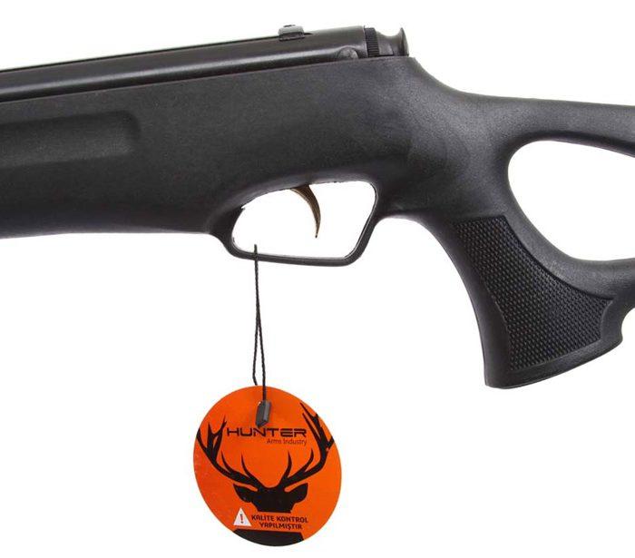 مشخصات تفنگ بادی هانتر 301 مدل 1100 مشکی