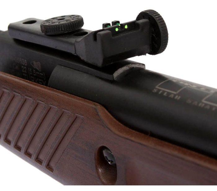 خرید تفنگ بادی هانتر 301 مدل 1100 طرح چوب