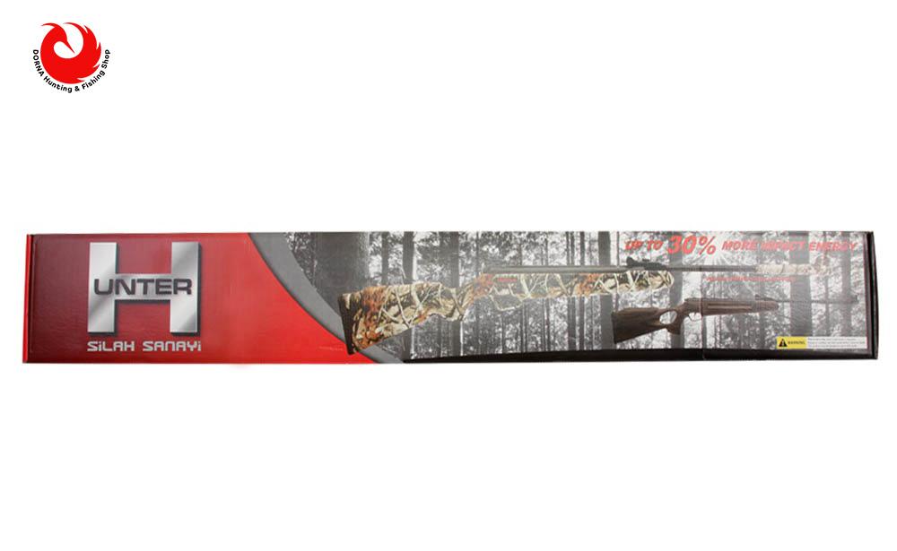 جعبه تفنگ بادی هانتر 301 مدل 1100 طرح چوب