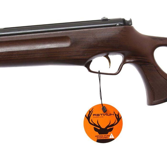 تفنگ بادی هانتر 301 مدل 1100 چوب