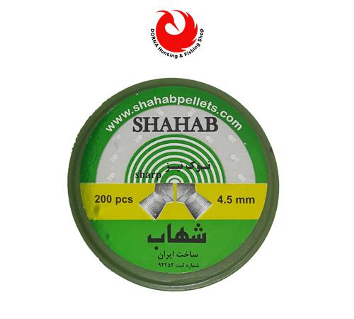 خرید ساچمه شهاب نوک تیز کالیبر 4.5