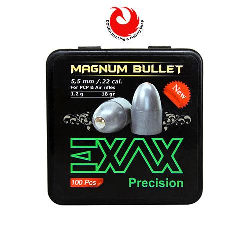 ساچمه EXAX کالیبر 5.5 – گرین 18