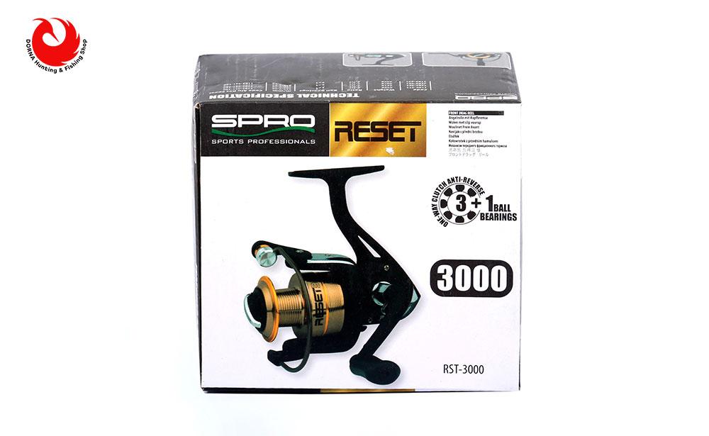 جعبه چرخ ماهیگیری اسپرو Reset 3000