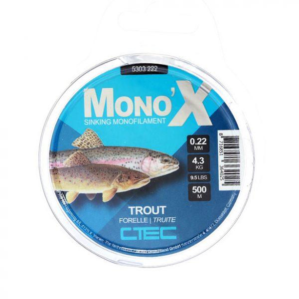 خرید نخ ماهیگیری اسپرو مونو Trout 0.22 4.3 kg