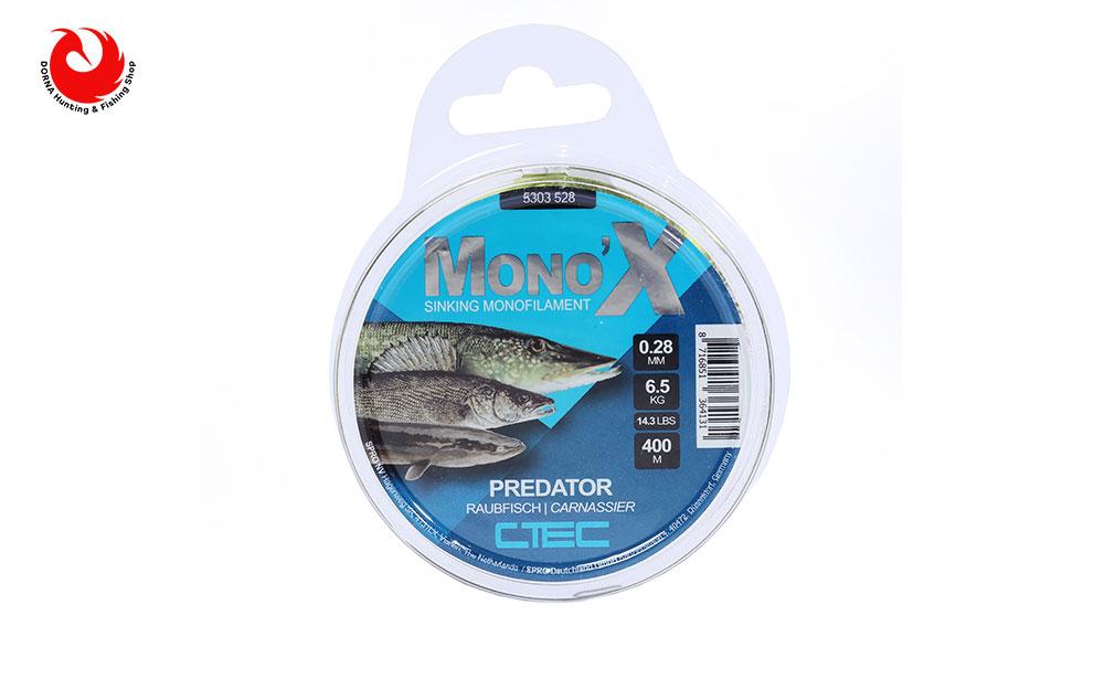نخ ماهیگیری اسپرو مونو Predator 0.28