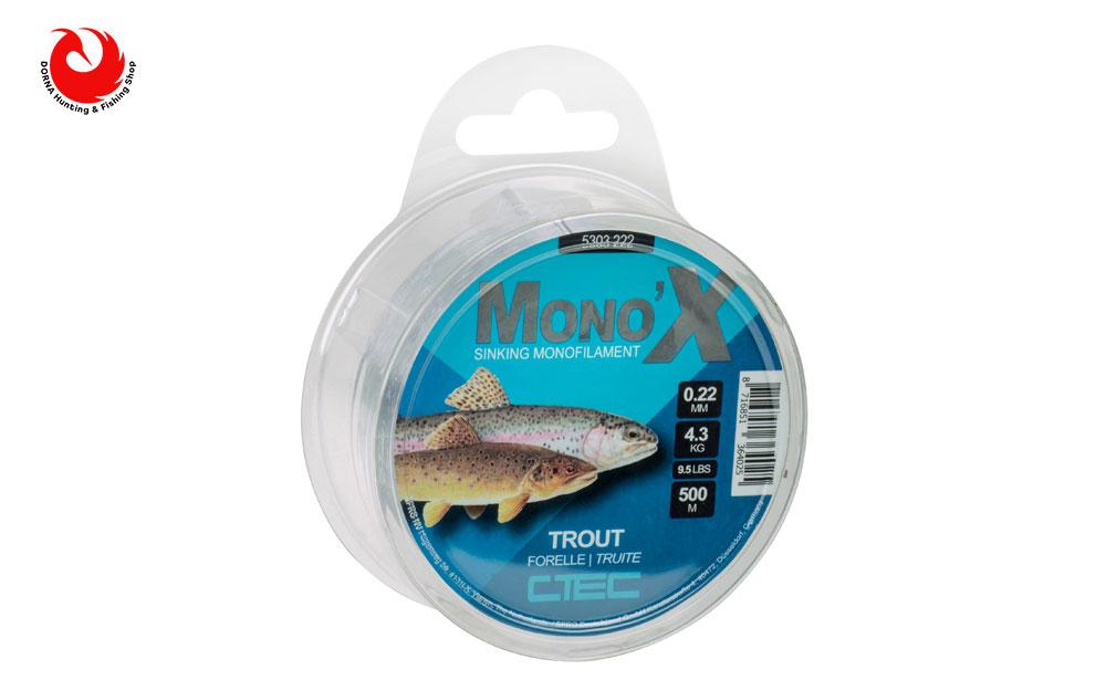 نخ ماهیگیری اسپرو مونو Trout