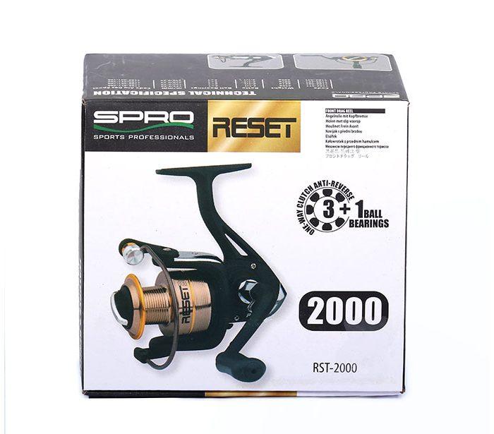 جعبه چرخ ماهیگیری اسپرو RESET 2000