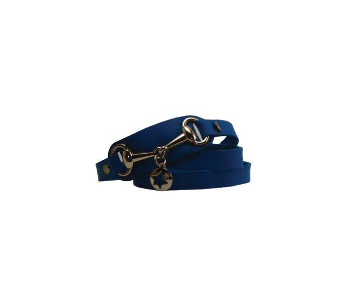 دستبند چرمی طرح ستاره