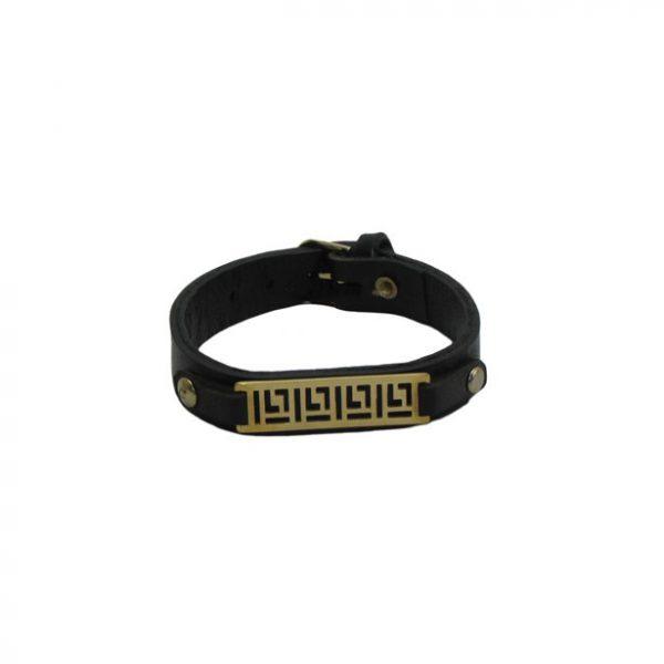 دستبند چرمی سگکی