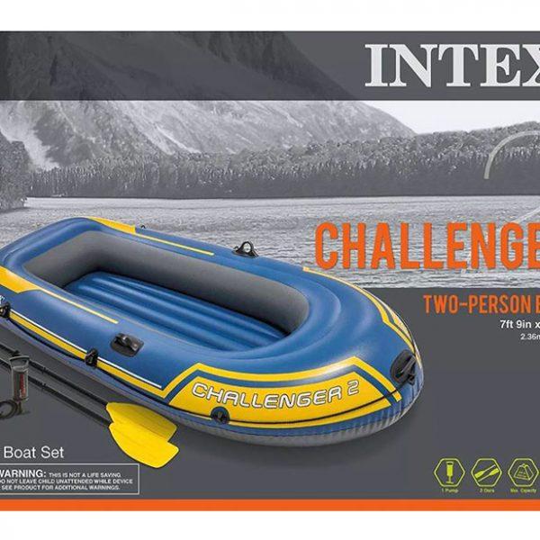 جعبه قایق بادی اینتکس challenger 2