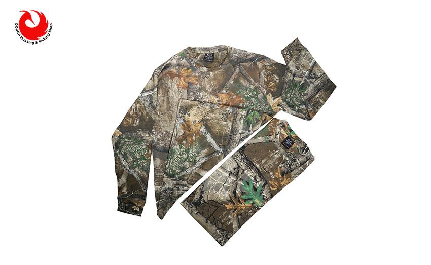 تی شرت شاخ و برگی استتار